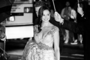(Editors Note: this image was converted to black and white) Ashley Judd arrives at the 2015 CFDA Fashion Awards at Alice Tully Hall at Lincoln Center on June 1, 2015 in New York City.
