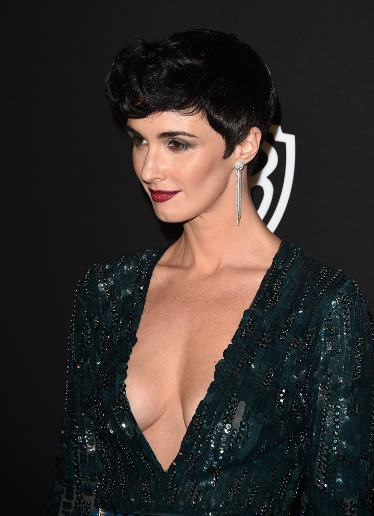 Paz Vega Photos Photos Instyle And Warner Bros Golden