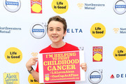 Actor Benjamin Stockham attends L.A. Loves Alex's Lemonade on September 12, 2015 in Los Angeles, California.