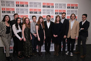 (L-R) Judith Lou Levy, Benjamin Crotty, Zia Anger, Stephen Gurewitz, Britni West, Adam Ginsberg, Marielle Heller, Kornel Mundruczo, Nora Fingscheidt, Charles Poekel and Nicholas Elliott attend the 2015 New Directors New Films Opening Night Gala with a presentation of 'The Diary of a Teenage Girl' at The Museum of Modern Art on March 18, 2015 in New York City.