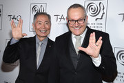 Actor George Takei and Brad Altman attend 2015 New York Film Critics Circle Awards at TAO Downtown on January 4, 2016 in New York City.
