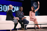 Center for Innovation & Social Impact, Asha Curran, Executive Director of UNFPA, Babatunde Osotimehin and actress Ashley Judd attend the 2015 Social Good Summit at 92Y on September 27, 2015 in New York City.