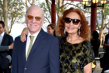 Diane Von Furstenberg Barry Diller 2015 Statue of Liberty-Ellis Island Foundation's Gala in the Great Hall