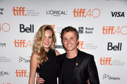 "Model Danielly Silva (L) and actor Kenny Wormald attend ""The Girl In The Photographs"" photo call during the 2015 Toronto International Film Festival at Ryerson Theatre on September 14, 2015 in Toronto, Canada."