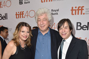 """Producer Heidi Jo Markel, executive producer Avi Lerner and producer Alan Siegel attend the """"Septembers of Shiraz"""" premiere during the 2015 Toronto International Film Festival at Roy Thomson Hall on September 15, 2015 in Toronto, Canada."""