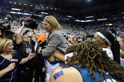 Maya Moore #23 of the Minnesota Lynx lifts up head coach Cheryl Reeve after a win in Game Five of the 2015 WNBA Finals against the Indiana Fever on October 14, 2015 at Target Center in Minneapolis, Minnesota. The Lynx defeated the Fever 69-52 to win the WNBA Championship. NOTE TO USER: User expressly acknowledges and agrees that, by downloading and or using this Photograph, user is consenting to the terms and conditions of the Getty Images License Agreement.