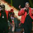 Sean Combs and Busta Rhymes