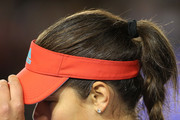 Ana Ivanovic of Serbia during her third round loss to Madison Keys of USA during day six of the 2016 Australian Open at Melbourne Park on January 23, 2016 in Melbourne, Australia.