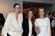 Jenna Lyons, Courtney Crangi and Audrey Meyer attends The 2016 Brooklyn Museum Artists Ball, Honoring Stephanie and Tim Ingrassia on April 20, 2016 in New York City.