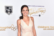 """Olympic swimmer Rebecca Soni attends the 2016 Children's Hospital Los Angeles """"Once Upon a Time"""" Gala at L.A. Live Event Deck on October 15, 2016 in Los Angeles, California."""