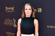 Actress Melissa Claire Egan arrives at the 43rd Annual Daytime Emmy Awards at the Westin Bonaventure Hotel on May 1, 2016 in Los Angeles, California.