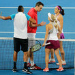 Caroline Garcia and Kenny De Schepper Photos