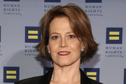 Sigourney Weaver attends 2016 Human Rights Campaign New York Gala Dinner at The Waldorf=Astoria on February 6, 2016 in New York City.