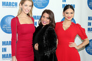 Miss USA Olivia Jordan, Muna Rihani Al-Nasser and Pia Wurtzbach attends the 2016 International Women's Day Annual Awards Luncheon at United Nations on March 4, 2016 in New York City.