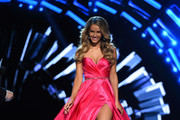 Miss USA 2015 Olivia Jordan hosts the 2016 Miss USA pageant preliminary competition at T-Mobile Arena on June 1, 2016 in Las Vegas, Nevada. The 2016 Miss USA will be crowned on June 5 in Las Vegas.