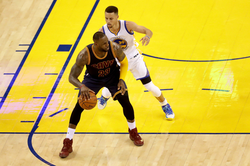 Golden State Warriors vs Cleveland Cavaliers - Game 1 ...