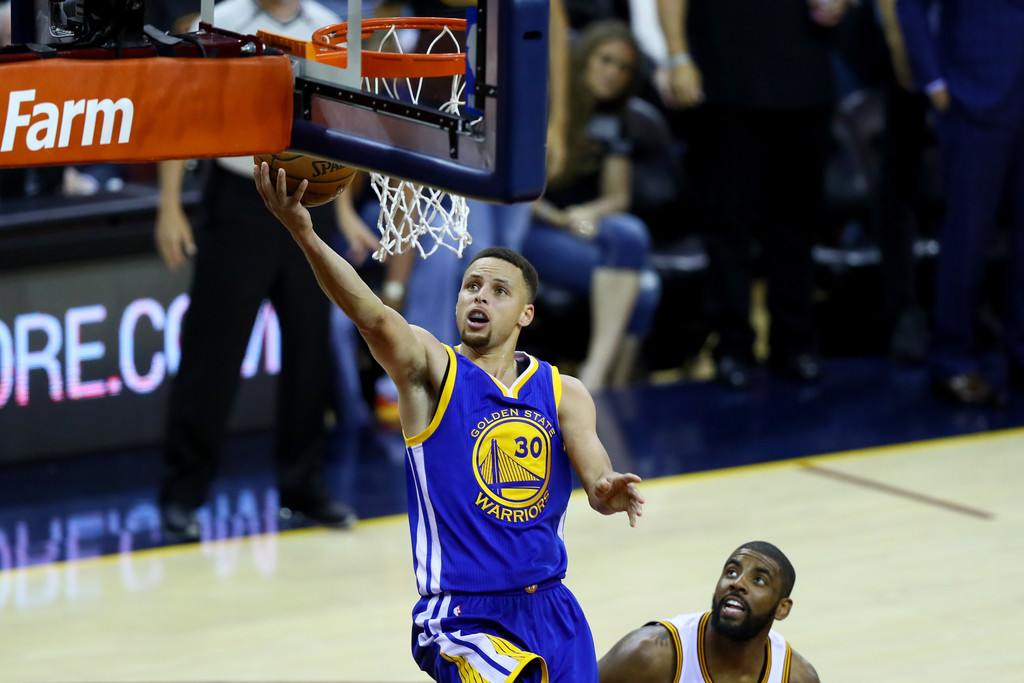 Stephen Curry Photos Photos - 2016 NBA Finals - Game Six ...