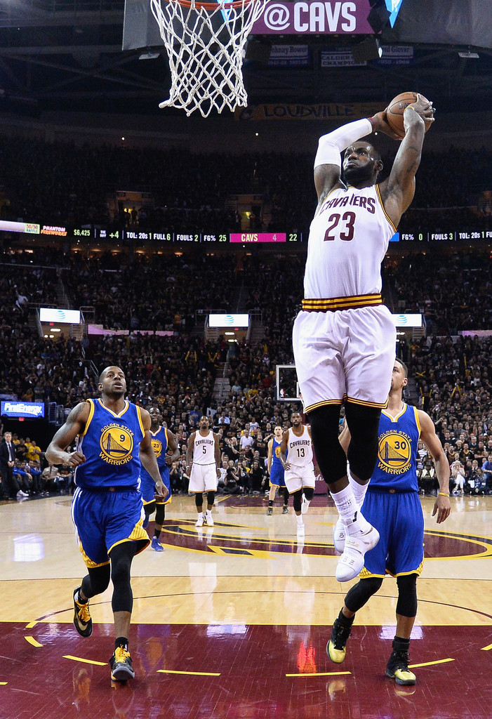 LeBron James Photos Photos - 2016 NBA Finals - Game Six ...
