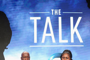 Filmmaker John Singleton and Samaria Rice speak onstage during 'The Talk (w.t)' panel discussion at the PBS portion of the 2016 Television Critics Association Summer Tour at The Beverly Hilton Hotel on July 28, 2016 in Beverly Hills, California.