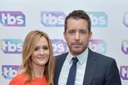 Actors/producers Samantha Bee (L) and Jason Jones attend the 2016 TCA Turner Winter Press Tour Presentation at the Langham Hotel on January 7, 2016 in Pasadena, California. 25807_001