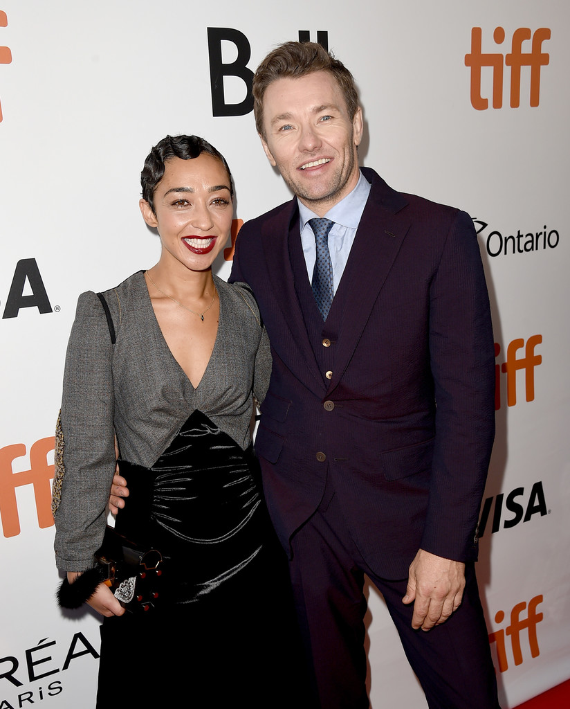Ruth Negga and Joel Edgerton at the Loving premiere during the 2016 Toronto International Film Festival on September 11, 2016. (Getty Images)