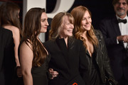 Actresses Madison Fisk, Sissy Spacek and Schuyler Fisk attend the 2016 Vanity Fair Oscar Party Hosted By Graydon Carter at the Wallis Annenberg Center for the Performing Arts on February 28, 2016 in Beverly Hills, California.