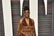 Actress Adepero Oduye attends the 2016 Vanity Fair Oscar Party Hosted By Graydon Carter at the Wallis Annenberg Center for the Performing Arts on February 28, 2016 in Beverly Hills, California.