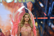 Lily Donaldson walks the runway during the 2016 Victoria's Secret Fashion Show on November 30, 2016 in Paris, France.