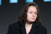 Actress Samantha Morton speaks onstage during The Last Panthers panel as part of the AMC Networks portion of This is Cable 2016 Television Critics Association Winter Tour at Langham Hotel on January 8, 2016 in Pasadena, California.