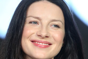 Actor Caitrona Balfe speaks onstage during the Outlander panel as part of the Starz portion of This is Cable 2016 Television Critics Association Winter Tour at Langham Hotel on January 8, 2016 in Pasadena, California.