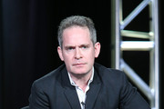 Actor Tom Hollander speaks onstage during The Night Manager panel as part of the AMC Networks portion of This is Cable 2016 Television Critics Association Winter Tour at Langham Hotel on January 8, 2016 in Pasadena, California.