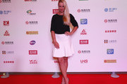 Sabine Lisicki of Germany poses for a picture at DongFeng Motor Wuhan Open Player Party at Wanda Realm Hotel on September 24, 2016 in Wuhan, China.