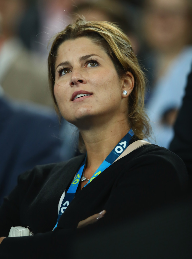 Mirka Federer Photos 2017 Australian Open Day 9 99
