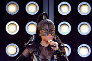 Rapper Nicki Minaj performs onstage during the 2017 Billboard Music Awards at T-Mobile Arena on May 21, 2017 in Las Vegas, Nevada.