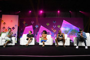 (L-R) Editor-in-Chief of ESSENCE Magazine Vanessa K. De Luca, Lynn Whitfield, Yara Shahidi, John Singleton and Spike Lee speak onstage at the 2017 ESSENCE Festival presented by Coca-Cola at Ernest N. Morial Convention Center on July 1, 2017 in New Orleans, Louisiana.
