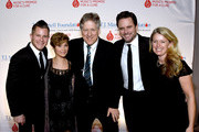 Brandon Robert Young, Clare Bowen, CAA's John Huie, Charles Esten, and Patty Hanson attend the T.J. Martell Foundation 9th Annual Nashville Honors Gala at Omni Hotel on February 27, 2017 in Nashville, Tennessee.at Omni Hotel on February 27, 2017 in Nashville, Tennessee.