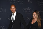 Model Jeremy Meeks (L) and Chloe Green attend 2017 Princess Grace Awards Gala at The Beverly Hilton Hotel on October 25, 2017 in Beverly Hills, California.