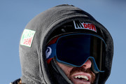 Danny Davis #18 of the United States competes in the FIS World Cup 2018 Men's Snowboard Halfpipe final during the Toyota U.S. Grand Prix on December 9, 2017 in Copper Mountain, Colorado.