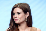 """JoAnna Garcia Swisher of """"Kevin (Probably) Saves the World"""" speaks onstage during the Disney/ABC Television Group portion of the 2017 Summer Television Critics Association Press Tour at The Beverly Hilton Hotel on August 6, 2017 in Beverly Hills, California."""