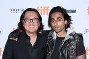 Joseph Kahn (L) and Adi Shankar attend the 'Bodied' premiere during the 2017 Toronto International Film Festival at Ryerson Theatre on September 7, 2017 in Toronto, Canada.