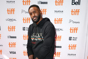 "Patrick Patterson attends ""The Carter Effect"" premiere during the 2017 Toronto International Film Festival at Princess of Wales Theatre on September 9, 2017 in Toronto, Canada."
