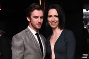 Dan Stevens and Rebecca Hall attend the After Party for Permission Sponsored by Heineken during 2017 Tribeca Film Festival at Up&Down on April 22, 2017 in New York City.