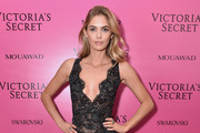 Model Megan Williams attends the 2017 Victoria's Secret Fashion Show In Shanghai After Party at Mercedes-Benz Arena on November 20, 2017 in Shanghai, China.