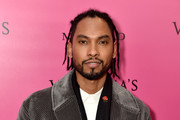 Singer Miguel attends the 2017 Victoria's Secret Fashion Show In Shanghai After Party at Mercedes-Benz Arena on November 20, 2017 in Shanghai, China.