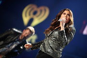 Singer Hillary Scott of  Lady Antebellum performs onstage during the 2017 iHeartCountry Festival, A Music Experience by AT&T at The Frank Erwin Center on May 6, 2017 in Austin, Texas.