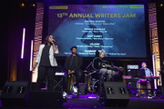 "(L-R) Songwriter/Producer Andrea Martin, Singer/Songwriters Prince Charlez, Amy Kuney and Leland perform onstage at the '13th Annual Writers Jam' during The 2018 ASCAP ""I Create Music"" EXPO at Loews Hollywood Hotel on May 9, 2018 in Hollywood, California."