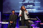 "Songwriter/Songwriters Prince Charlez and Andrea Martin perform onstage at the '13th Annual Writers Jam' during The 2018 ASCAP ""I Create Music"" EXPO at Loews Hollywood Hotel on May 9, 2018 in Hollywood, California."