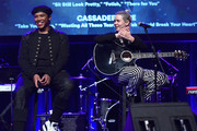 "Songwriter/Songwriters Prince Charlez and Amy Kuney perform onstage at the '13th Annual Writers Jam' during The 2018 ASCAP ""I Create Music"" EXPO at Loews Hollywood Hotel on May 9, 2018 in Hollywood, California."