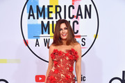 Hilary Roberts attends the 2018 American Music Awards at Microsoft Theater on October 9, 2018 in Los Angeles, California.