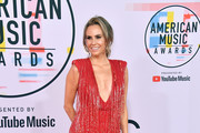 Keltie Knight attends the 2018 American Music Awards at Microsoft Theater on October 9, 2018 in Los Angeles, California.